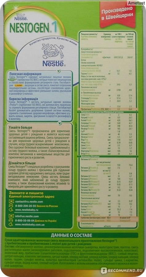 «нестожен кисломолочный 3»: состав особенности и где же «нестожен 1» и «2»? ~