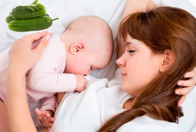 Можно ли кормящей маме кушать огурцы: правила и нормы употребления при грудном вскармливании