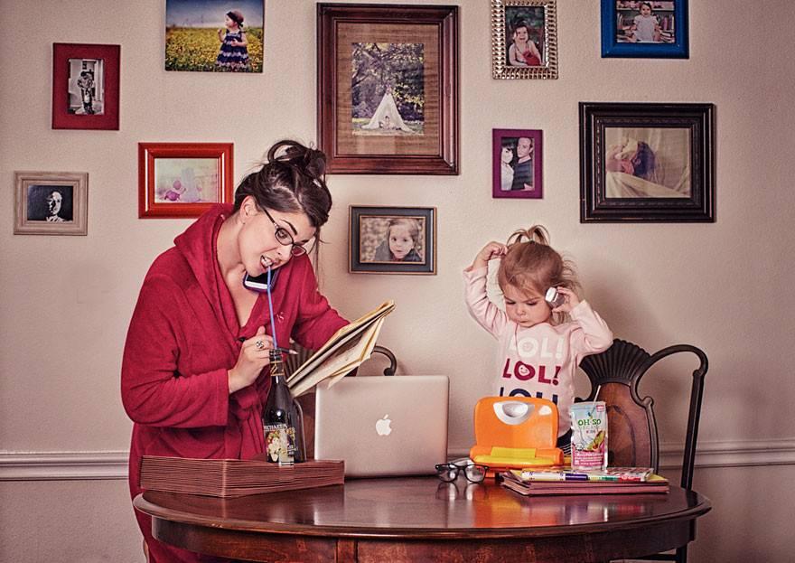 Тайм-менеджмент работающей многодетной мамы