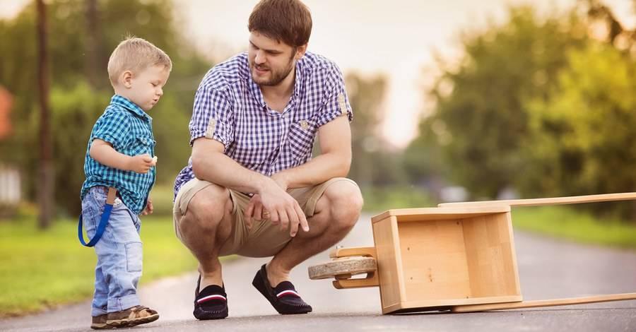 Как воспитать мальчика настоящим мужчиной, если в семье нет достойного примера