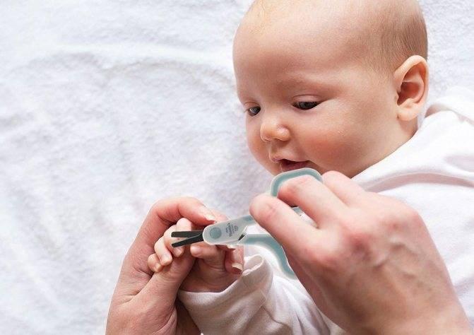 Уход за ногтями ребенка. Как правильно ухаживать и подстригать ногти новорожденному ребенку