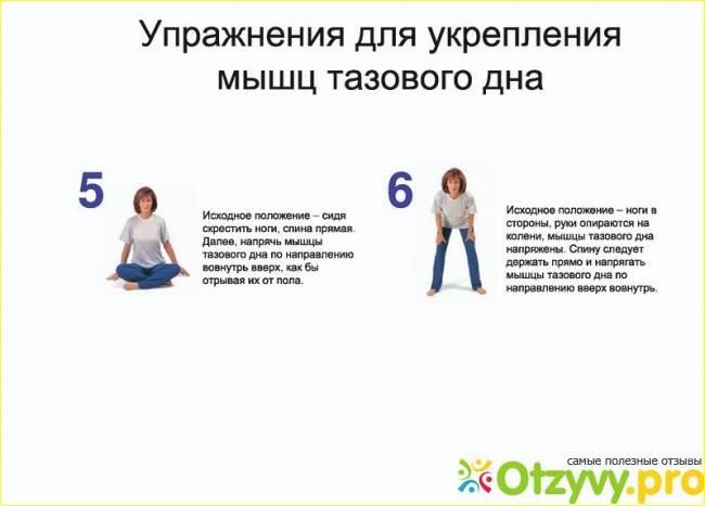 Укрепление мышц тазового дна