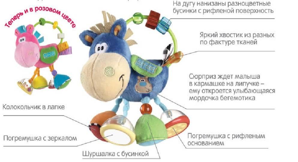 Погремушки для новорожденных: когда ребенок начинает реагировать и играть