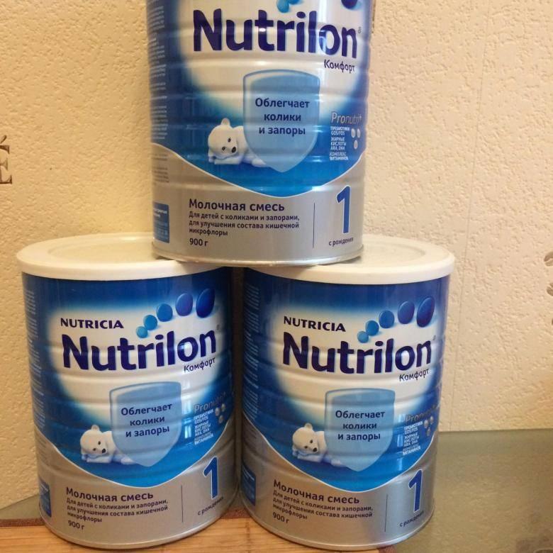 Детская сухая смесь нутрилон для детей от 0 до 6 месяцев: отзывы специалистов, преимущества и правила кормления младенца