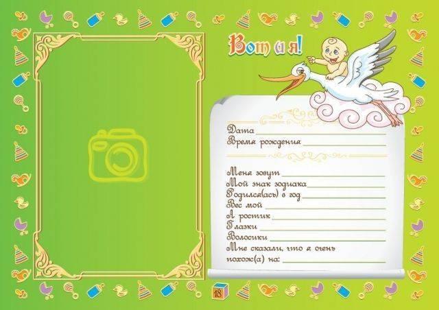 Карта профилактических прививок: заполненный образец или бланк карты учета для новорожденного ребенка и взрослого формы 063 у