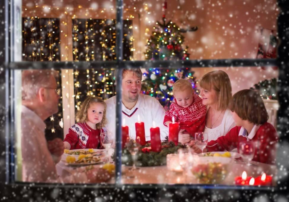 Новогодние семейные традиции и ритуалы