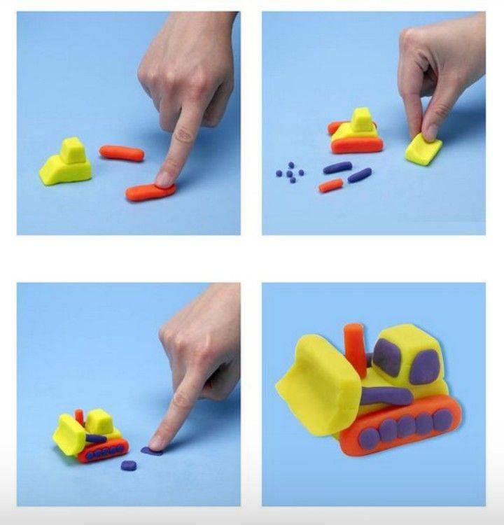 Лепка из пластилина: польза, способы, идеи по возрастам – развитие речи у детей