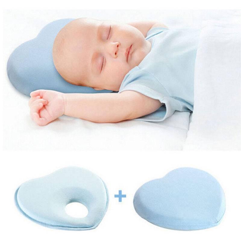 Ортопедическая подушка для новорожденных: как выбрать и пользоваться