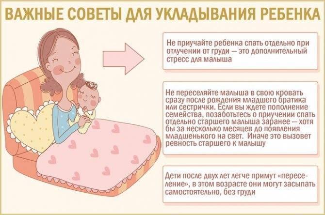 Как научить ребёнка засыпать самостоятельно без слез и укачиваний
