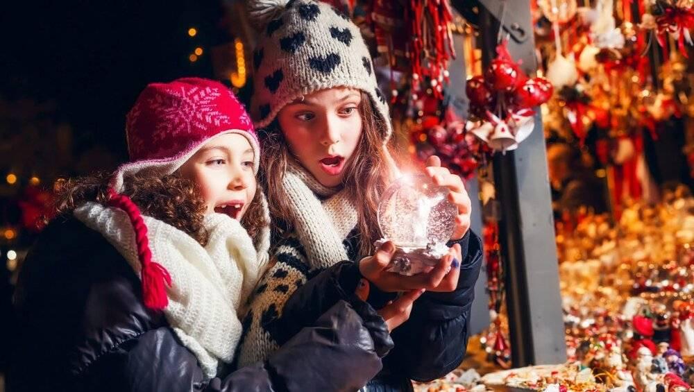 Веселые конкурсы на новый год детям