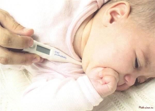10 вероятных причин повышенной температуры у новорожденного