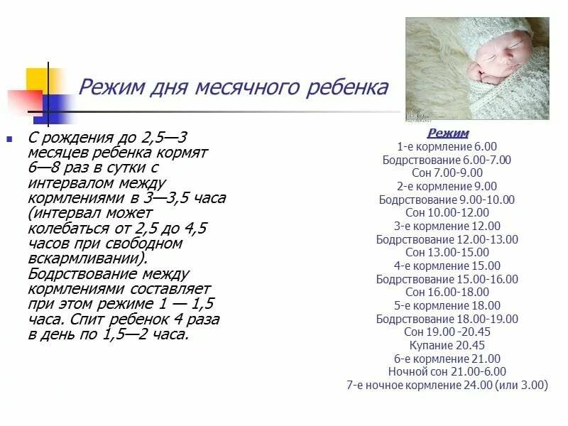 Режим детей от 1 до 4 лет - режим дня детей от года - agulife.ru