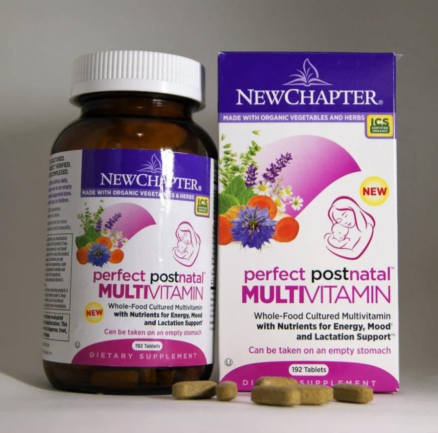 Витаминные комплексы для женщин после родов для восстановления