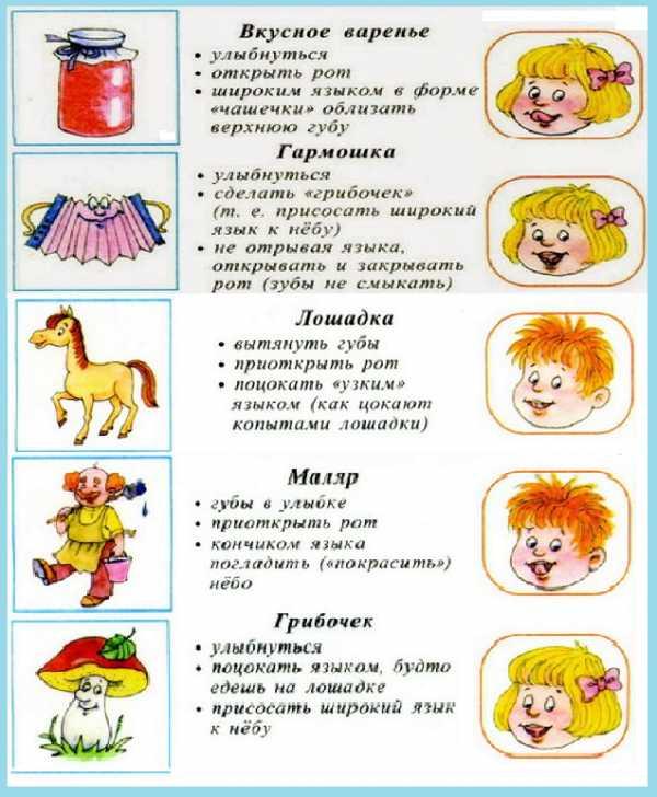 Упражнения для домашних занятий на выговаривания буквы Р для детей