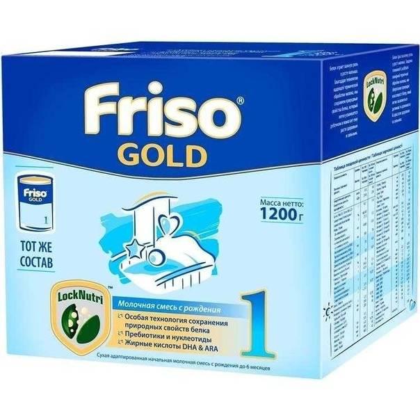 Ассортимент детских смесей фрисолак (friso) - от 0 до 3 лет