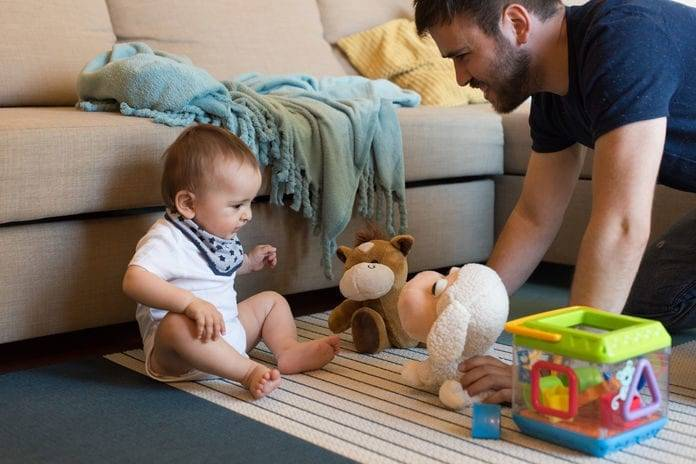 Игры для папы и ребенка - во что поиграть с ребенком
