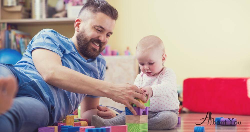 Почему дети так любят играть с папой? папа просто играет по-другому