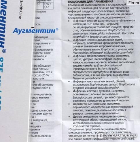 "Суспензия ""клацид"" 125 и 250 мг"