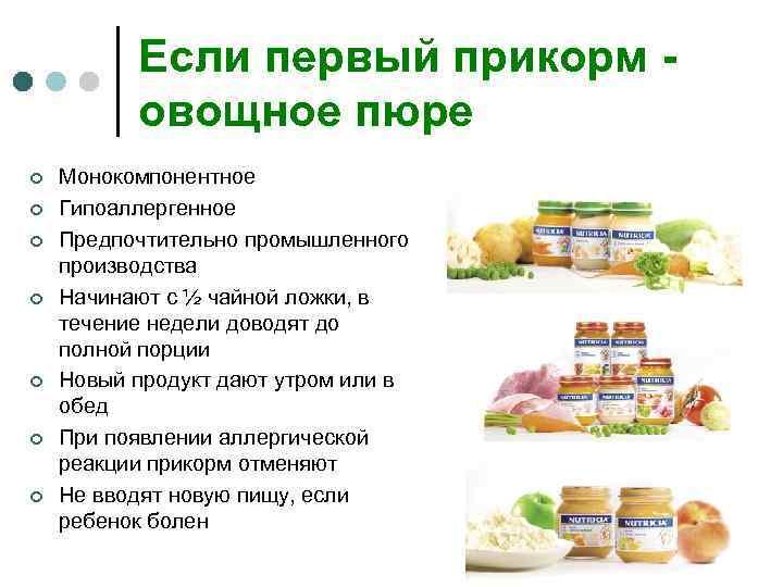 Как правильно вводить прикорм? - форма