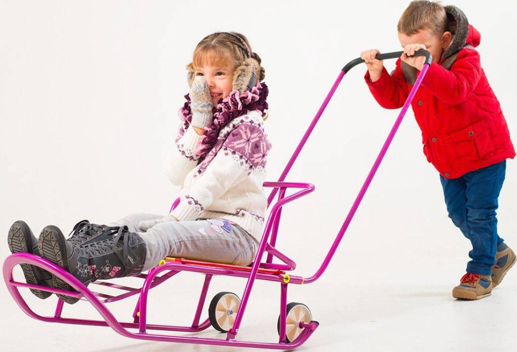 Все о детских санках-колясках