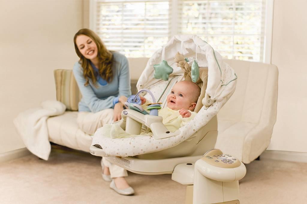 Как выбрать электронные качели для новорожденных детей?
