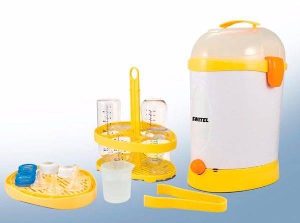 Как стерилизовать детские бутылочки и другие приспособления для детского питания?