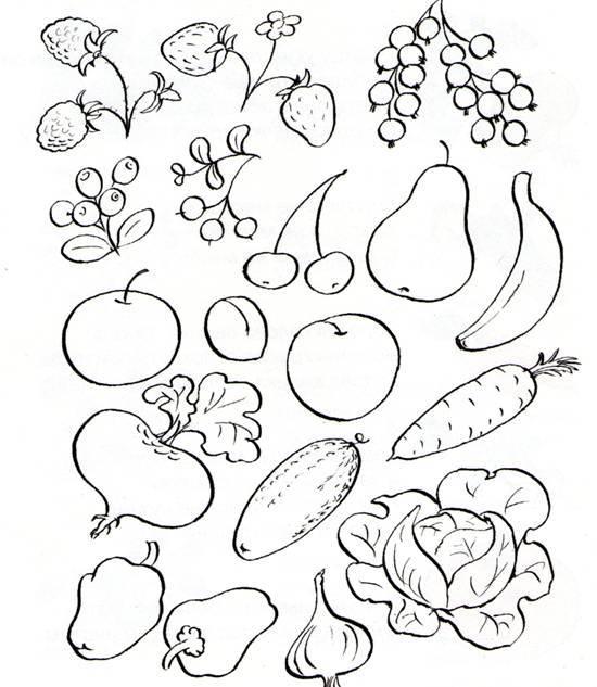 Тема недели «фрукты». рисование с детьми 3-4 лет. конспекты занятий