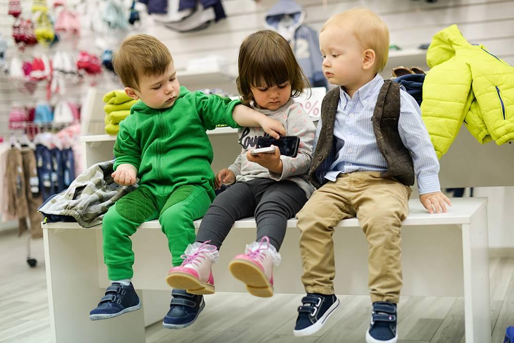 Выбираем детский ассортимент для магазина одежды