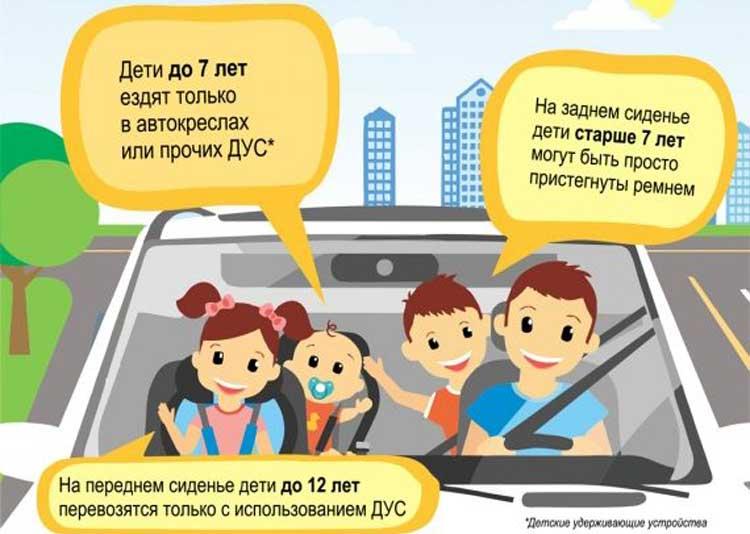 Можно ли перевозить ребенка на переднем сиденье?   автошкола