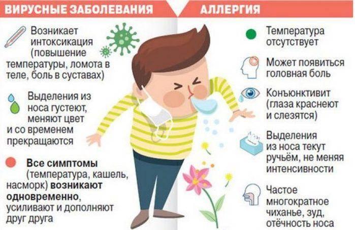 5 причин повышения температуры у детей при аллергии
