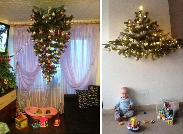 Животрепещущий вопрос: елка в доме, где есть маленький ребенок - «разное» » «женский онлайн журнал »