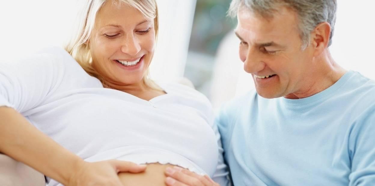 Первая беременность в 40 лет
