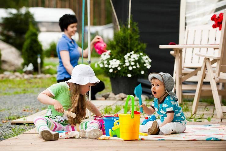 Особенности летнего отдыха на природе