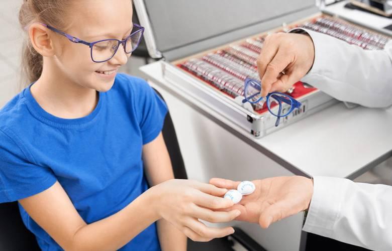 Контактные линзы для детей - как и где подобрать