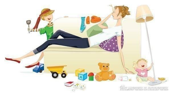 Привычка успевать: 15 советов молодой маме – мамульчик