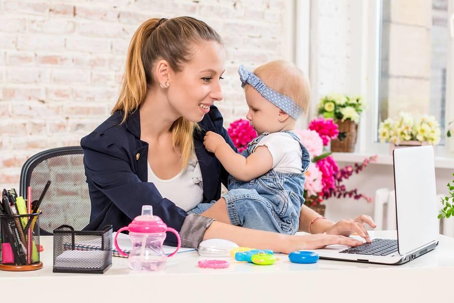 Молодая мама: работать или нет? . выход на работу после декретного отпуска