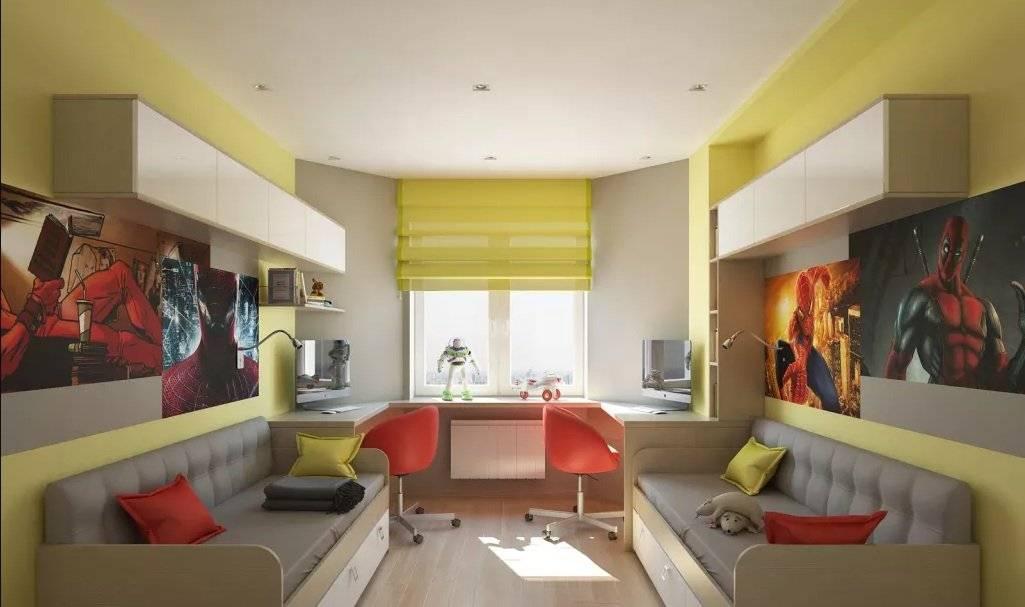 Дизайн комнаты для мальчика и девочки — планировка и зонирование комнаты для двух разнополых детей