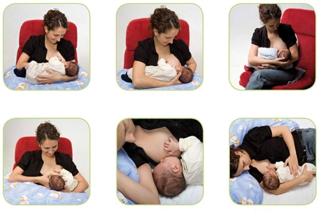 Как правильно кормить грудью: сидя, лежа и другие позы