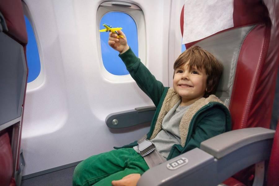 Перелет маленьких и грудных детей с компанией аэрофлот