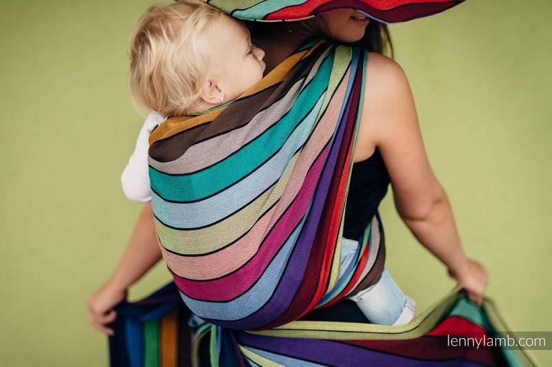 Малыш и слинг – как помочь привыкнуть?