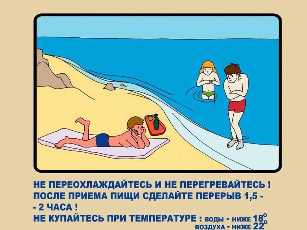 Безопасность ребёнка на пляже