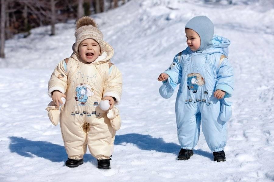Зимняя одежда для детей - новорожденных, для малышей, список