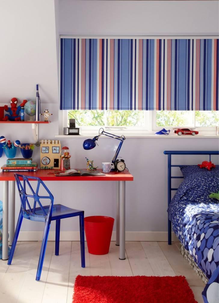 Шторы в детскую комнату для мальчика или девочки: 70 современных фото и идей