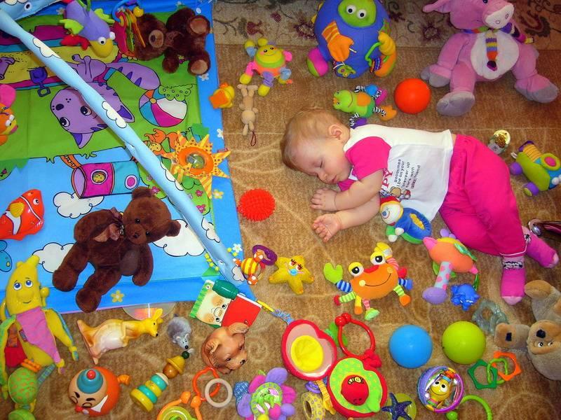 Развивающие игры для детей от 9 месяцев до 1 года