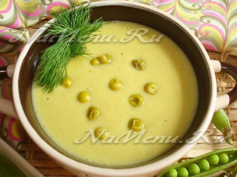 Детский гороховый суп
