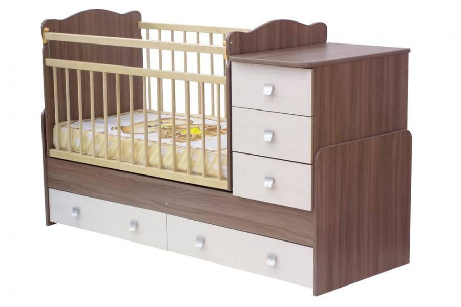 Детская кроватка-трансформер: плюсы и минусы