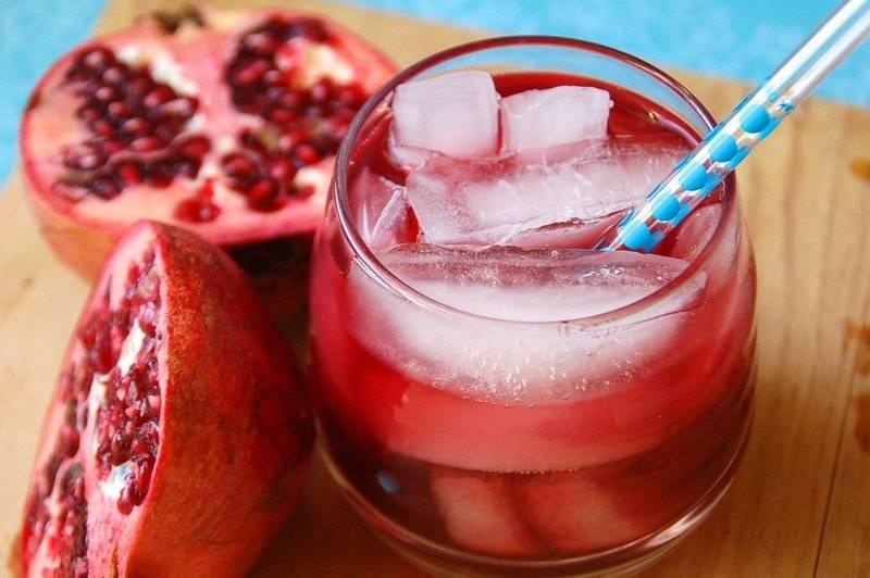 Гранатовый сок. витамины. польза и вред для женщин и мужчин.