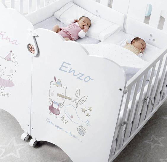 Детская для двойняшек: стильные варианты оформления от rerooms