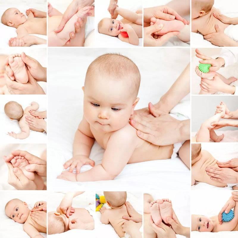 Массаж и гимнастика новорожденных