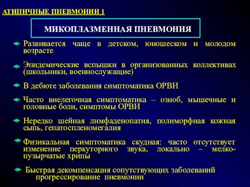 Микоплазменные инфекции